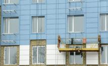 Устройство и ремонт вентилируемых фасадов